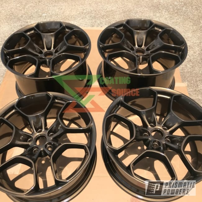 Powder Coating: Wheels,Automotive,Clear Vision PPS-2974,TRIPLE BRONZE UMB-4548,Lamborghini,Custom Automotive Parts,Metallic Powder Coating