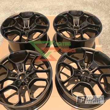 Powder Coated Bronze Lamborghini Wheels