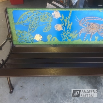 Powder Coated Bench