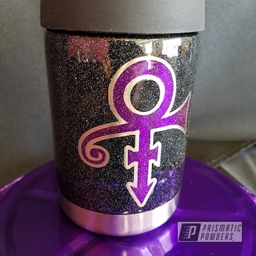 Powder Coated Sparkling Drinkware