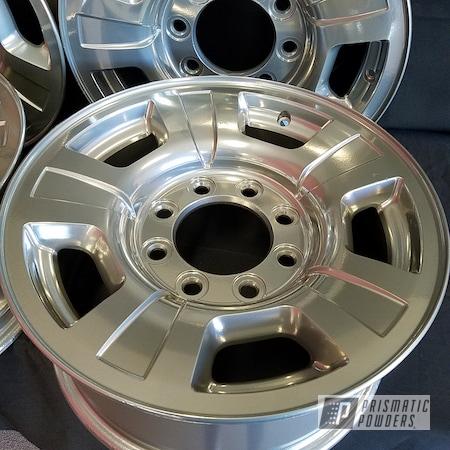 Powder Coating: Wheels,Automotive,Clear Vision PPS-2974,SUPER CHROME USS-4482,Custom Wheels,BMW