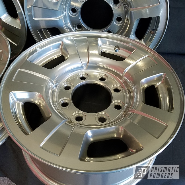 Powder Coating: Wheels,Automotive,Clear Vision PPS-2974,Custom Wheels,Super Chrome USS-4482,BMW