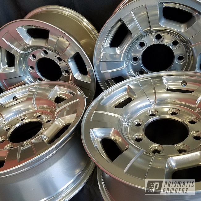 Powder Coating: Wheels,Automotive,Clear Vision PPS-2974,SUPER CHROME USS-4482,Custom Wheels,BMW
