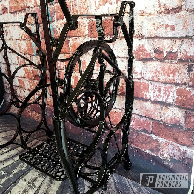 Powder Coating: Ink Black PSS-0106,Furniture