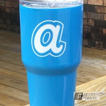 Powder Coated Atlanta Braves 30oz Tumbler Custom Cup