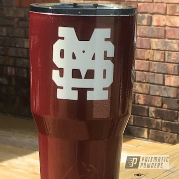 Powder Coated Mississippi State 30oz Tumbler Custom Cup