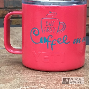 Powder Coated Yeti Coffee Cup Tumbler Custom Cup Yeti