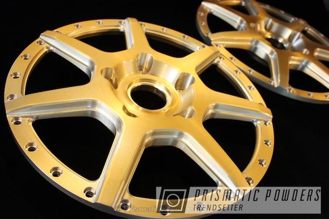 Powder Coating: Wheels,BMD Forged,Spun Gold PPB-5921