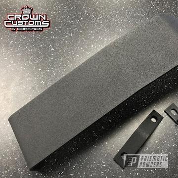 Powder Coated Scatter Shield Refinished In Super Grip Black