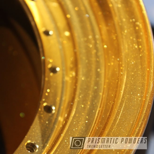 Powder Coating: Flaming Gold PPB-4698,Wheels,BMF Forged