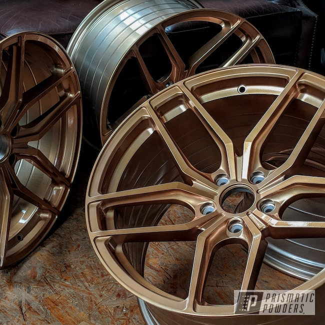 Powder Coating: Illusion True Copper PMB-10044,Wheels,Automotive,Clear Vision PPS-2974