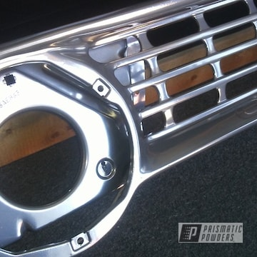 Chevrolet Pickup Grill In Clear Vision And Super Chrome