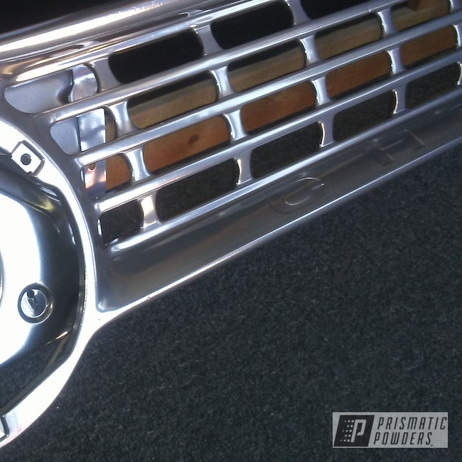 Powder Coating: Automotive,Clear Vision PPS-2974,SUPER CHROME USS-4482,Chevrolet,Pickup,grill