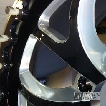 Custom Chevrolet Powder Coated Parts In Clear Vision, Pearl Black And Super Chrome