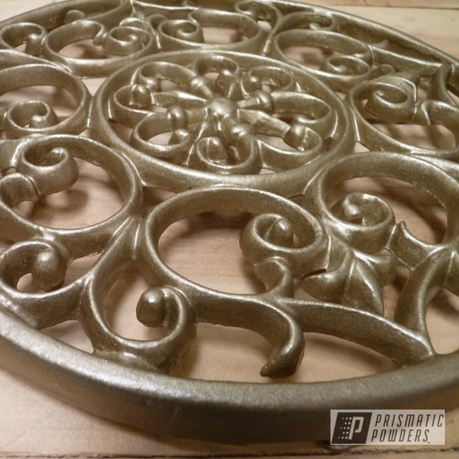 Powder Coating: Metal Art,Walts Gold PMB-4053,Art,Miscellaneous