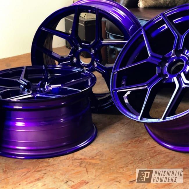 Powder Coating: Illusion Purple PSB-4629,Wheels,Raffa,Automotive,wheel,RS-01,Clear Vision PPS-2974