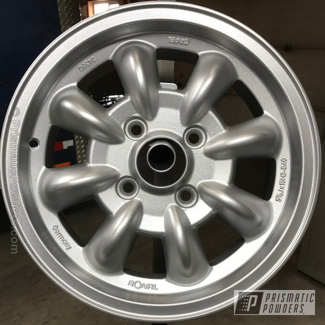Powder Coating: Wheels,BMW Silver PMB-6525