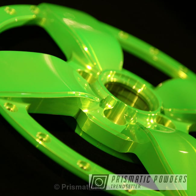 Powder Coating: Wheels,BMD Forged,Lollypop Lime PPS-5628