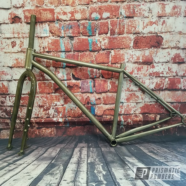 Powder Coating: Clear Vision PPS-2974,Bicycle,Bicycle Frame