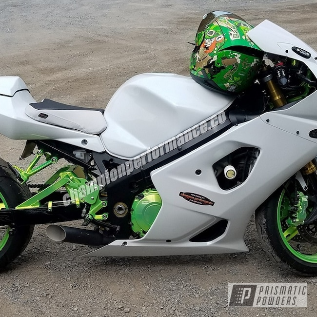 Powder Coating: SUPER CHROME USS-4482,Rims,GSXR,Motorcycles,Custom Motorcycle Accents,Shocker Yellow PPS-4765