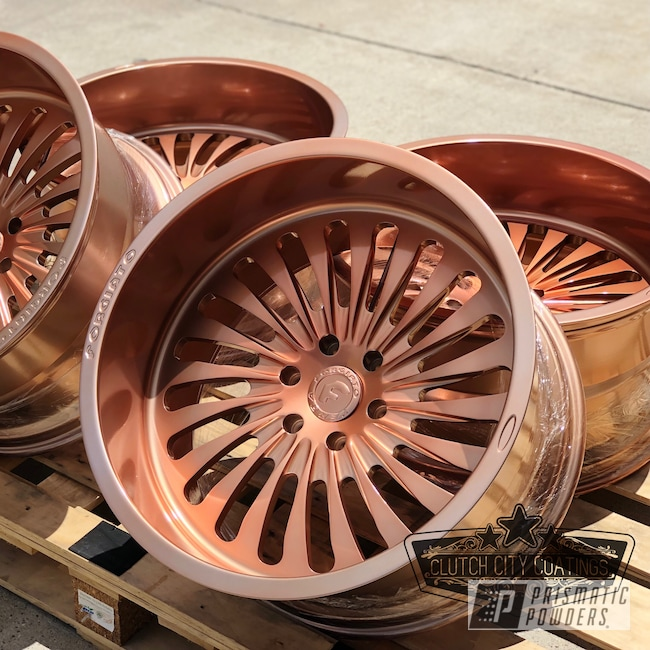 Powder Coating: Illusion True Copper PMB-10044,Wheels,Automotive,Clear Vision PPS-2974,Custom Wheels,Forgiato