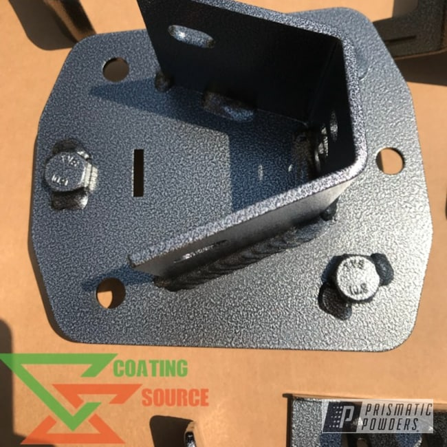 Powder Coating: Automotive,Tattered Black-(Discontinued) EVS-2998,Dodge,Bumper,Ram