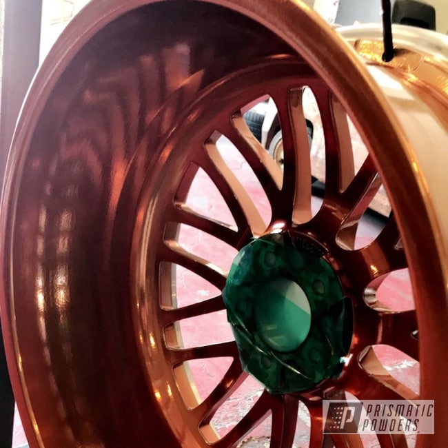 Powder Coating: Wheels,Automotive,Clear Vision PPS-2974,Super Chrome USS-4482,Mercedes,Trans Copper II PPS-2618