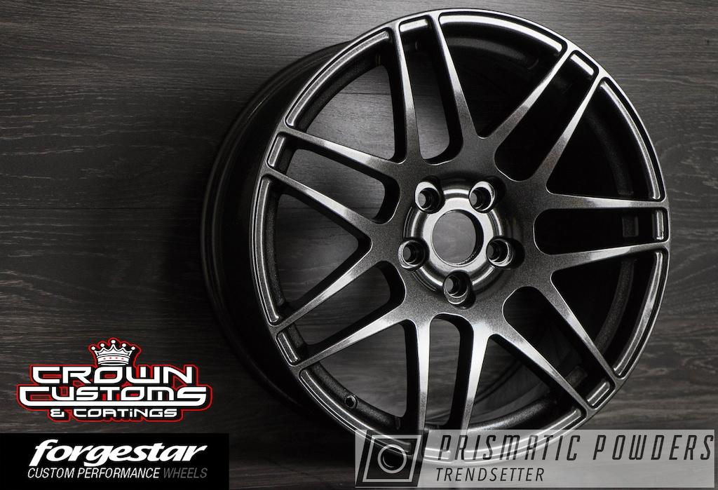 Elk Grove Vw >> Forgestar F14 Wheels Refinished In Vw Black | Prismatic Powders