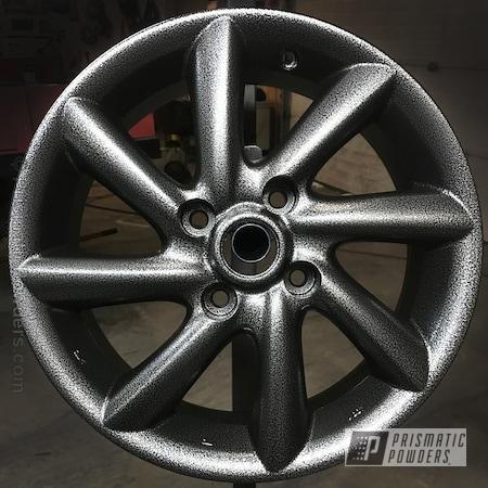 Powder Coating: Wheels,Automotive,Silver Artery PVS-3014