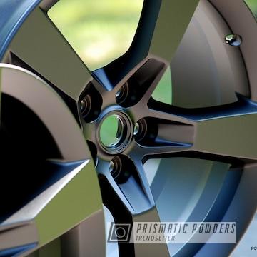 Custom Chevrolet Camaro Wheels In A Black Jack Powder Coat