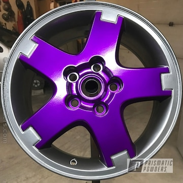 Soft Clear Over Illusion Violet And Ultra Black Chrome