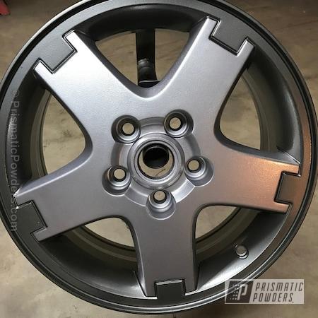 Powder Coating: Wheels,BMW Silver PMB-6525,chrome,Casper Clear PPS-4005,ULTRA BLACK CHROME USS-5204