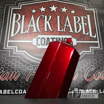 Tso Exhaust Tip In An Illusion Cherry Powder Coat