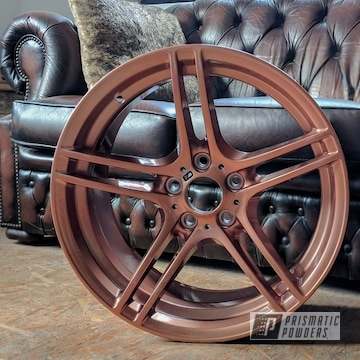 Bmw Bbs Wheels Coated In A Illusion Rose Gold And Clear Vision Powder Coat