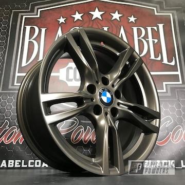 Custom Bmw Wheels Finished In Us Burnt Bronze Powder Coat