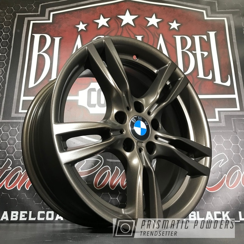 Custom Bmw Wheels Finished In Us Burnt Bronze Powder Coat