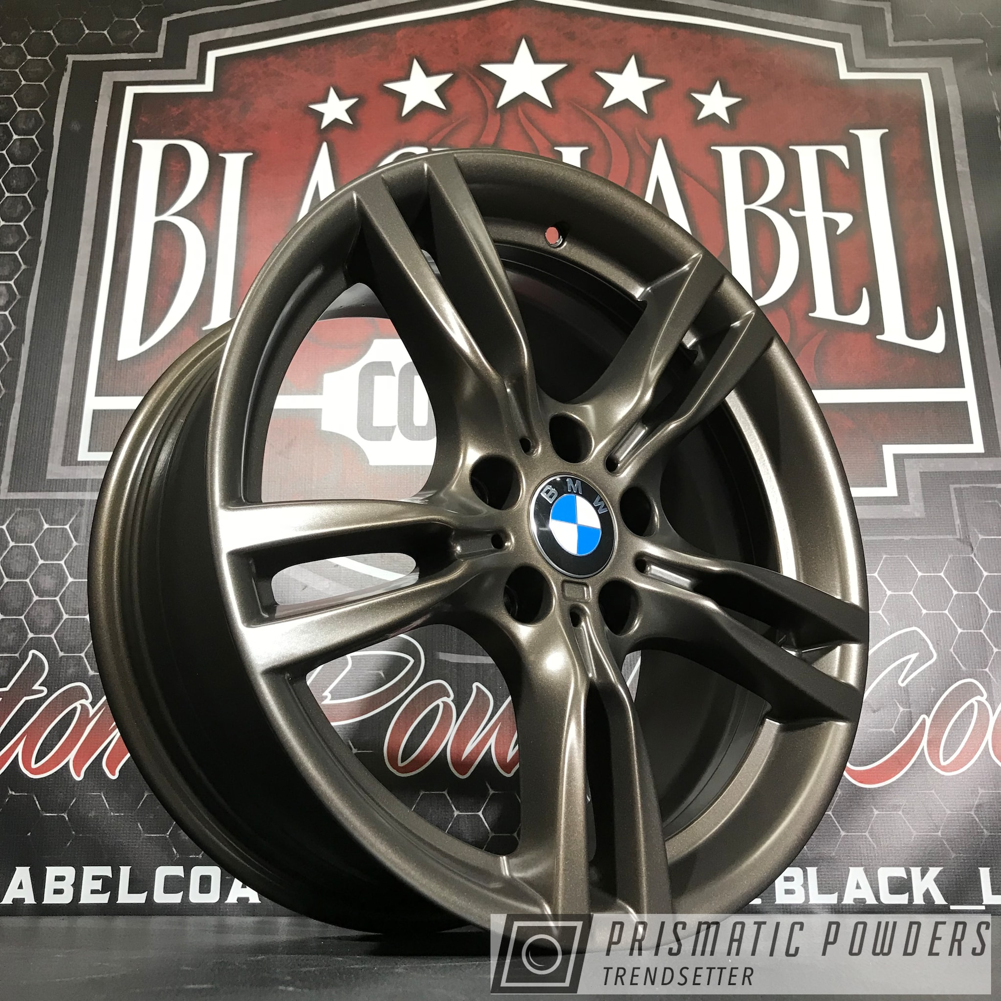 Powder Coating: Wheels,Automotive,Custom Wheels,BMW,US BURNT BRONZE UMB-0492