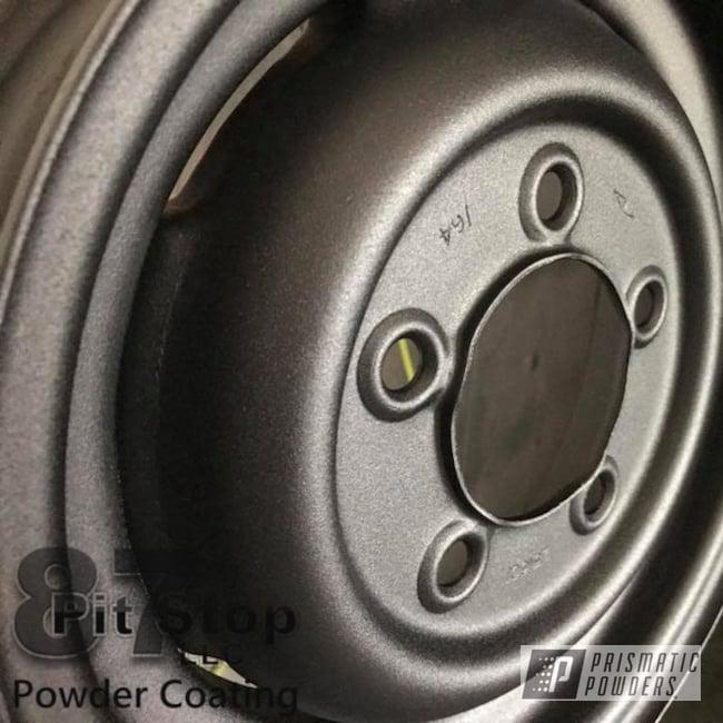 Wheels Done In A Black Cast Powder Coat