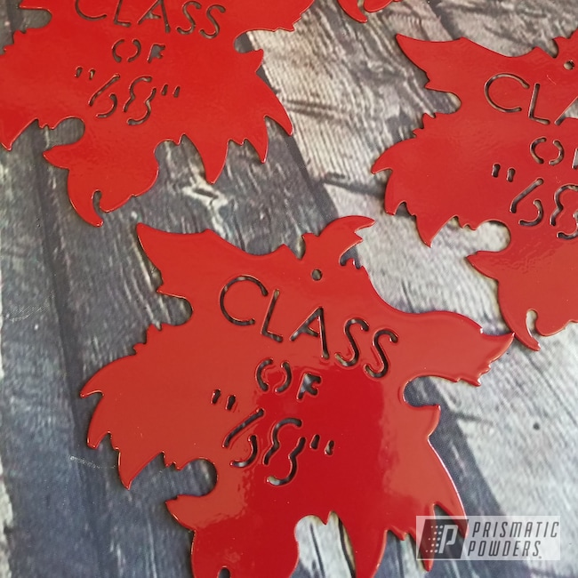 Powder Coating: Metal Art,Art,RAL 3002 Carmine Red