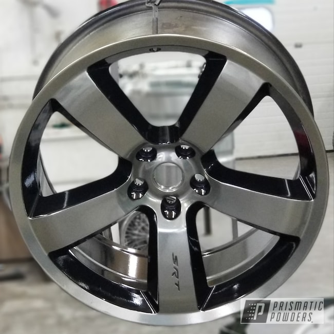 Powder Coating: Wheels,Automotive,Clear Vision PPS-2974,SUPER CHROME USS-4482,Custom Wheels,Ink Black PSS-0106,20inch