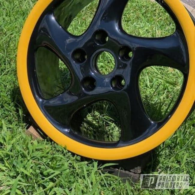 Powder Coating: Wheels,Automotive,Custom Wheels,Ink Black PSS-0106