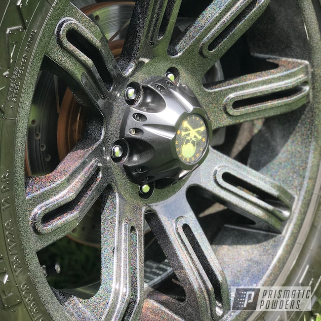 Powder Coating: Wheels,Automotive,Clear Vision PPS-2974,City Lights PMB-2689,20inch