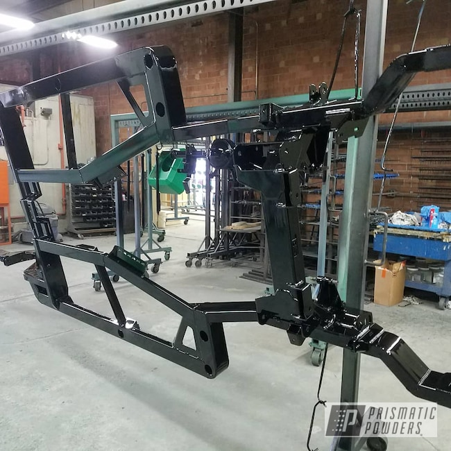 Powder Coating: chevelle,Automotive,Ink Black PSS-0106,chassis,1969 Chevelle Chassis