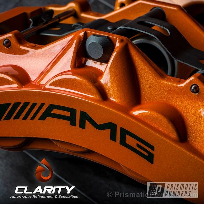 Powder Coating: Automotive,Clear Vision PPS-2974,Illusion Orange PMS-4620