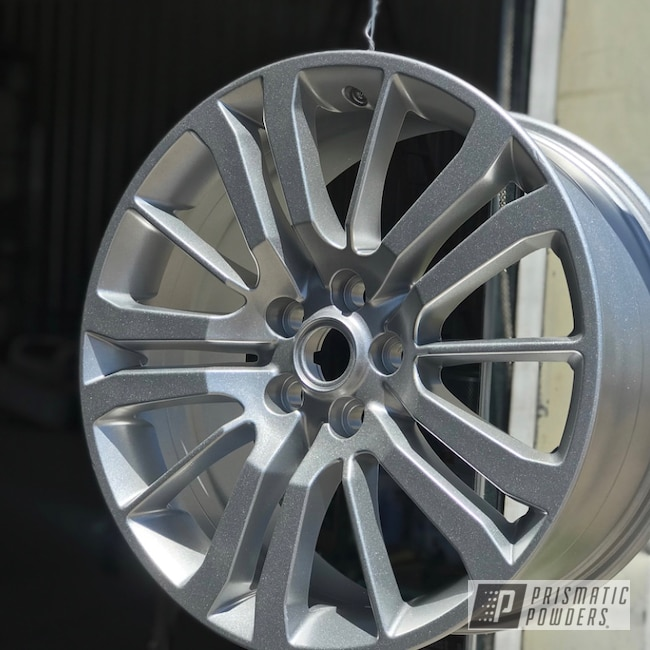 Powder Coating: Wheels,Automotive,Heavy Silver PMS-0517,Land Rover,Range Rover,silver,20inch,Sport,landrover,Heavy Silver
