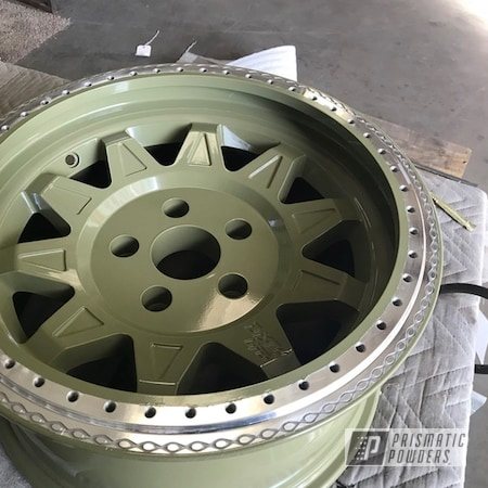 Powder Coating: Wheels,Automotive,4x4,Rebel Off Road,Off-Road,spring,Jeep,Dirty Life Wheels,Arney Green PSB-6858,Suspension