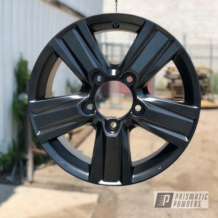Powder Coating: Wheels,STERLING BLACK UMB-1204,Toyota,18inch,4runner