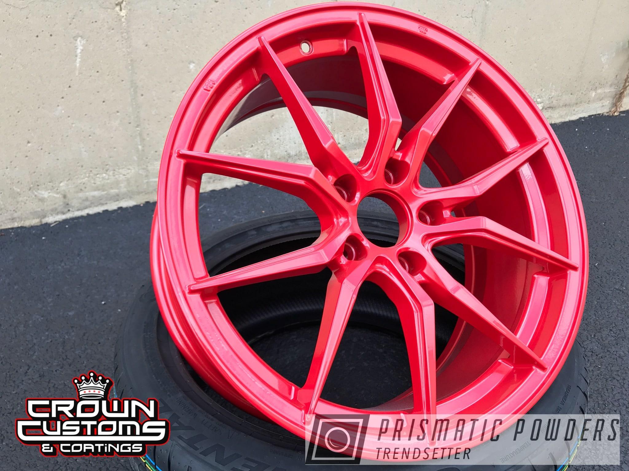 Powder Coating: Wheels,Custom Wheels,Very Red PSS-4971