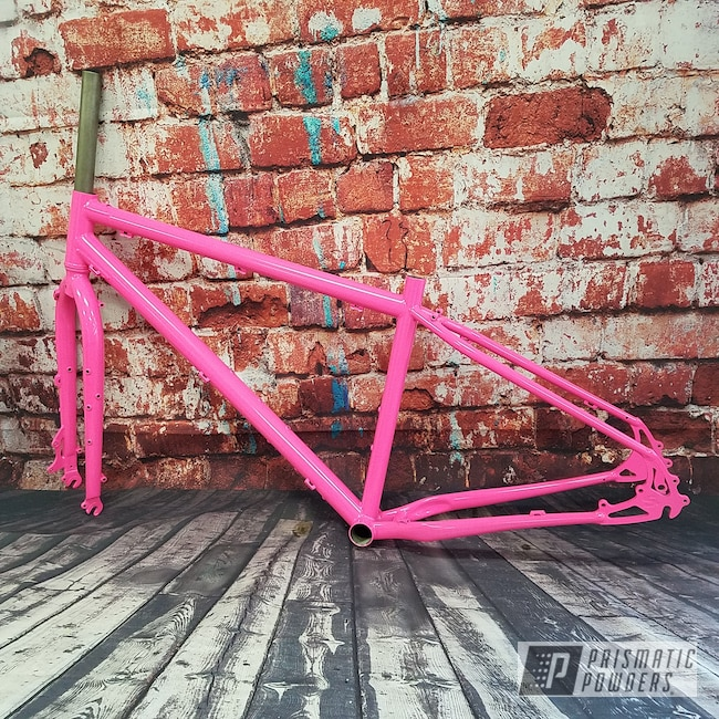 Powder Coating: Custom Bike Frame,Sassy PSS-3063,Bicycle