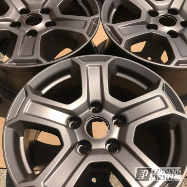 Powder Coating: Wheels,Luxury Bronze PMB-10029,Powder Coat Wheels
